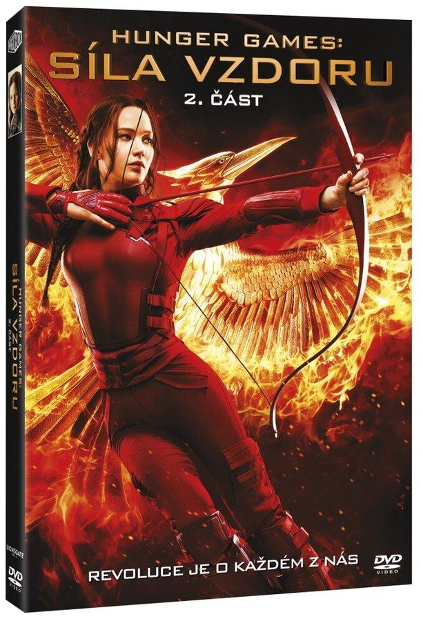 Hunger Games: Síla vzdoru - 2. část (DVD)