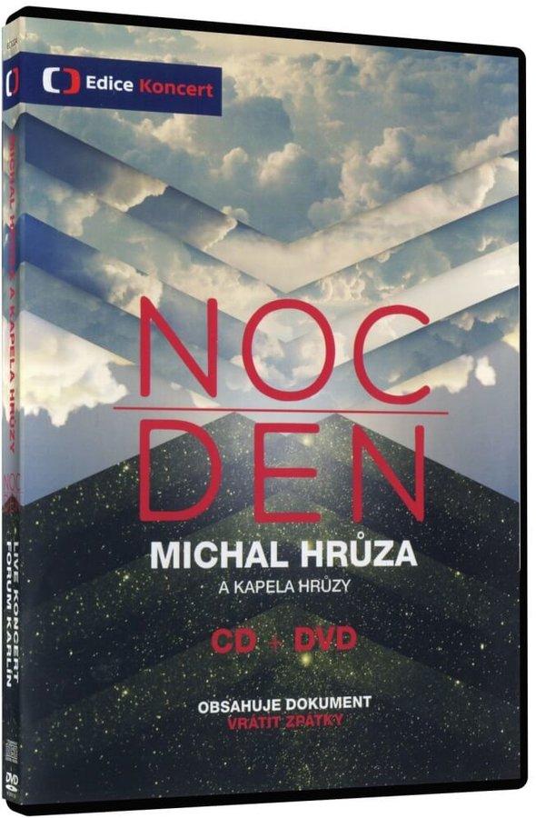NOC/DEN Michal Hrůza a kapela Hrůzy (DVD+CD), obsahuje dokument Vrátit zpátky