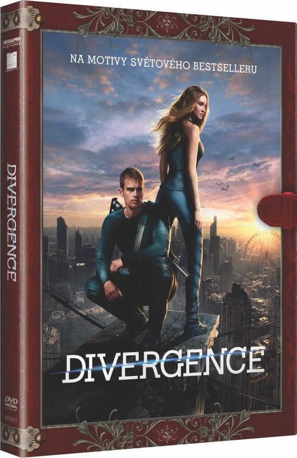 Divergence (DVD) - KNIŽNÍ EDICE