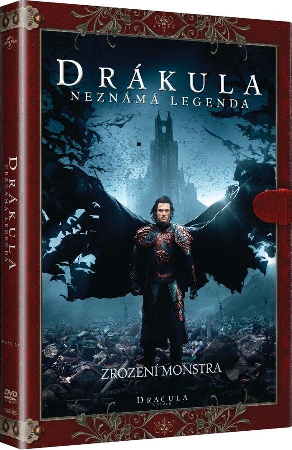 Drákula: Neznámá legenda (DVD) - KNIŽNÍ EDICE