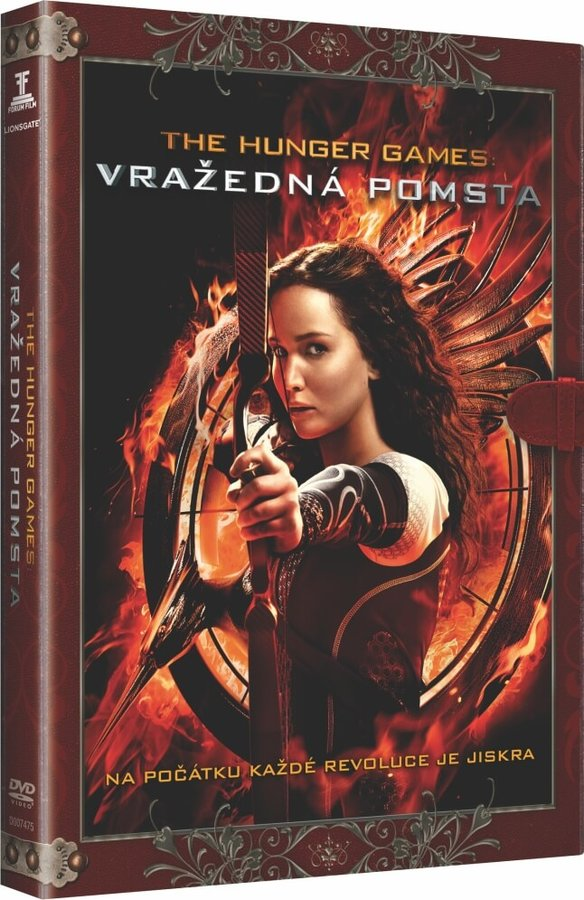 Hunger Games: Vražedná pomsta (DVD) - KNIŽNÍ EDICE