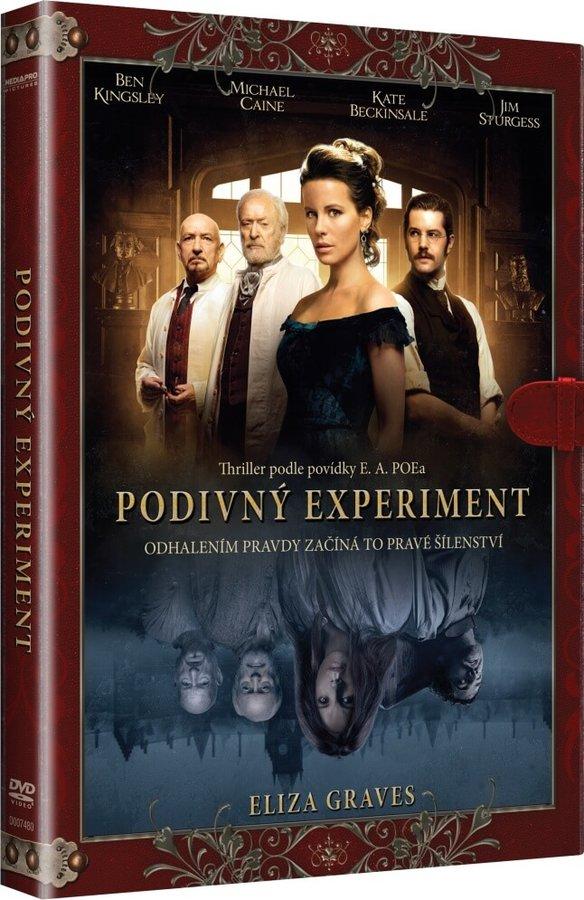 Podivný experiment (DVD) - KNIŽNÍ EDICE