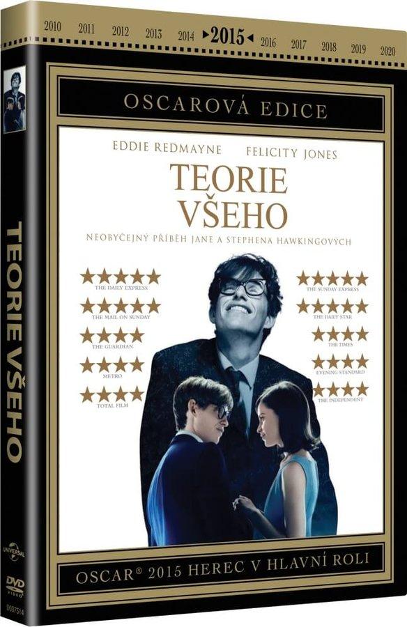 Teorie všeho (DVD) - OSCAROVÁ EDICE
