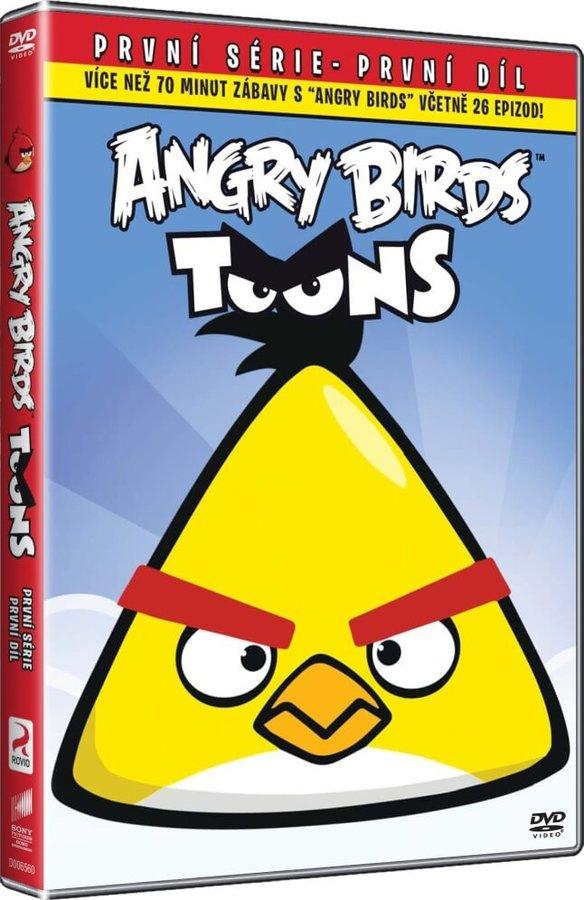 Angry Birds Toons 1. série - 01 (DVD) - edice BIG FACE