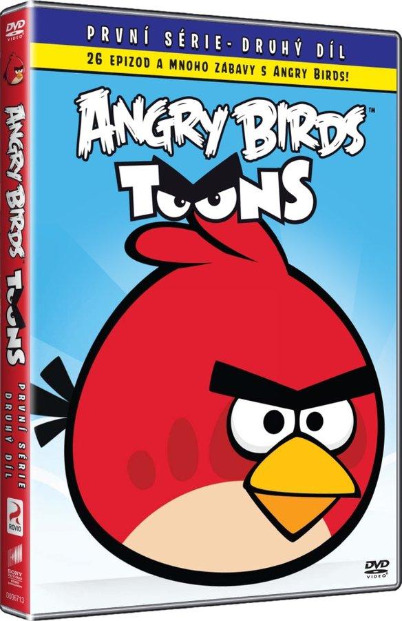 Angry Birds Toons 1. série - 02 (DVD) - edice BIG FACE