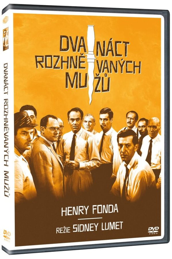 Dvanáct rozhněvaných mužů (DVD)