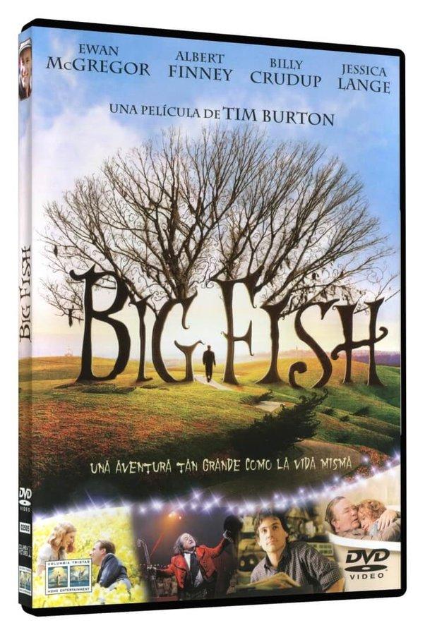 Velká ryba (DVD) - DOVOZ