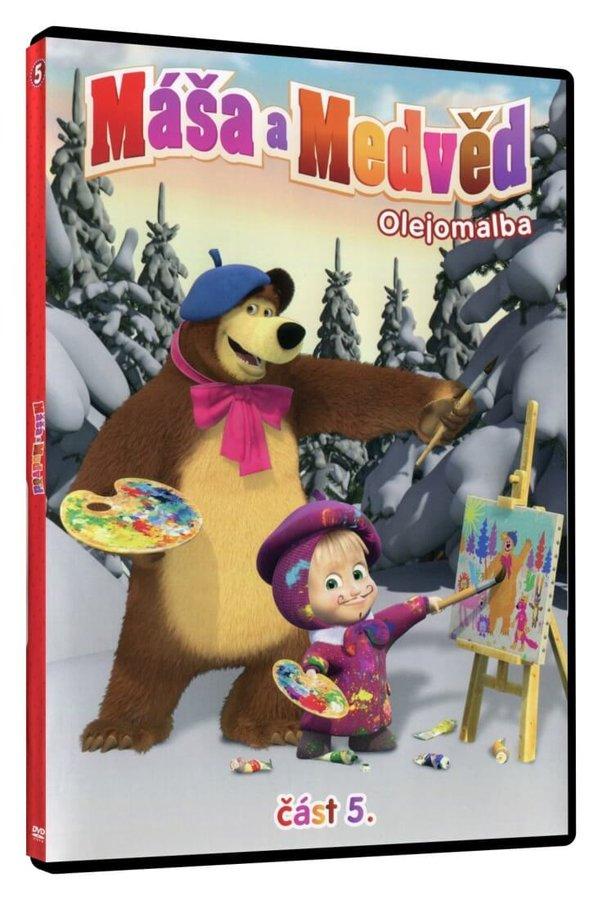 Máša a medvěd 5 - Olejomalba (DVD)