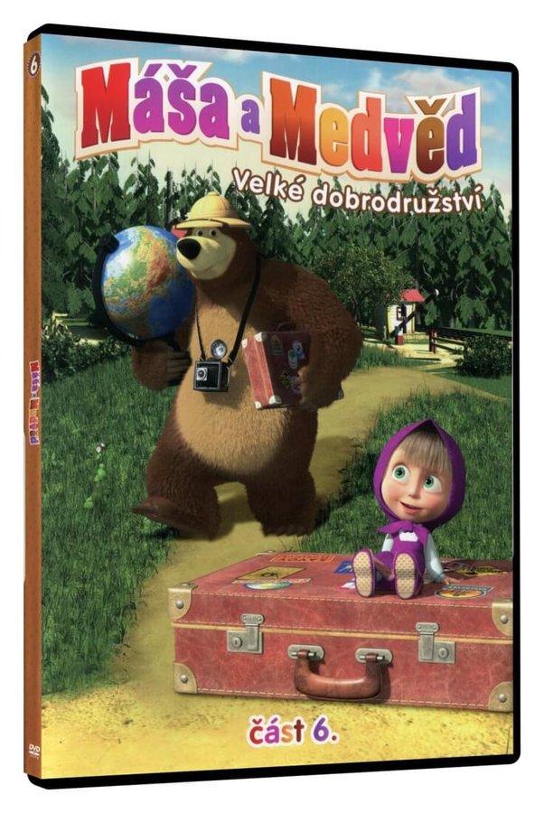 Máša a medvěd 6 - Velké dobrodružství (DVD)