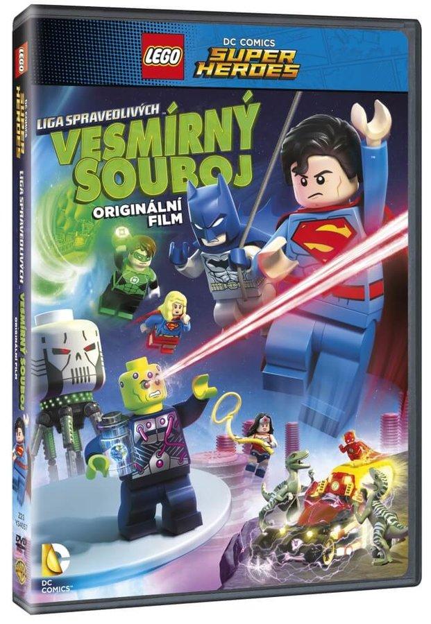 Lego DC Super hrdinové: Vesmírný souboj (DVD)
