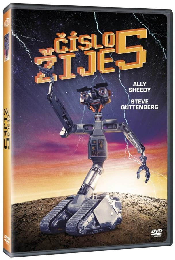 Číslo 5 žije (DVD)