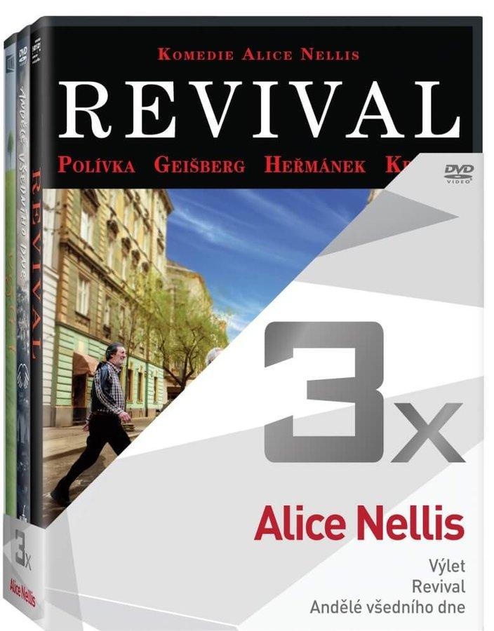 3x Alice Nellis - kolekce (3xDVD)