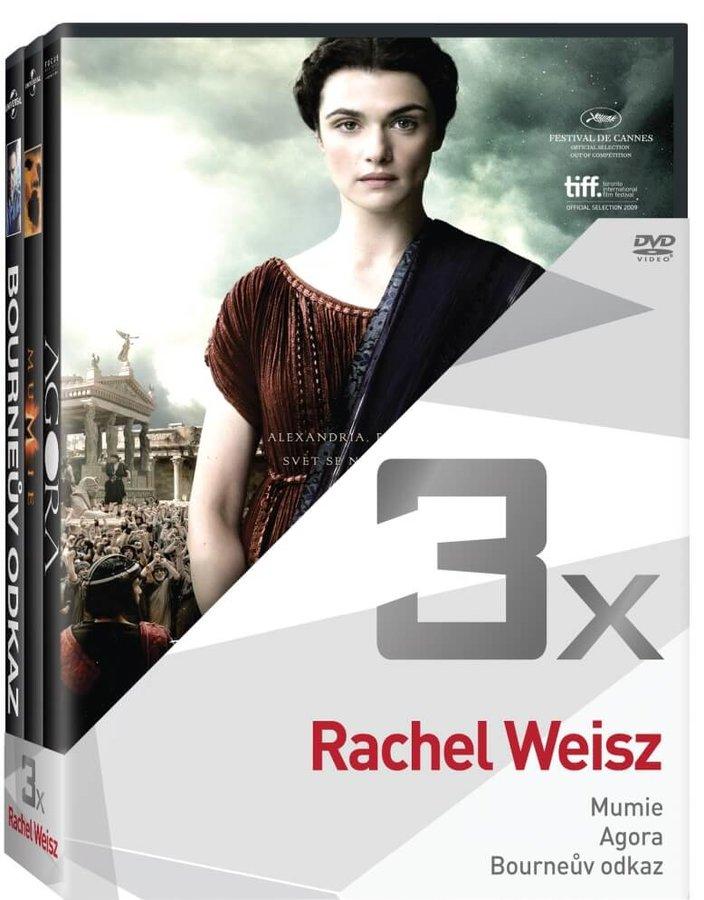 3x Rachel Weisz - kolekce (3xDVD)