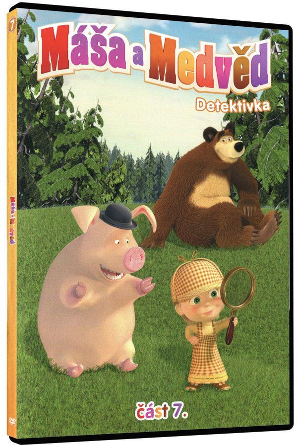 Máša a medvěd 7 - Detektivka (DVD)
