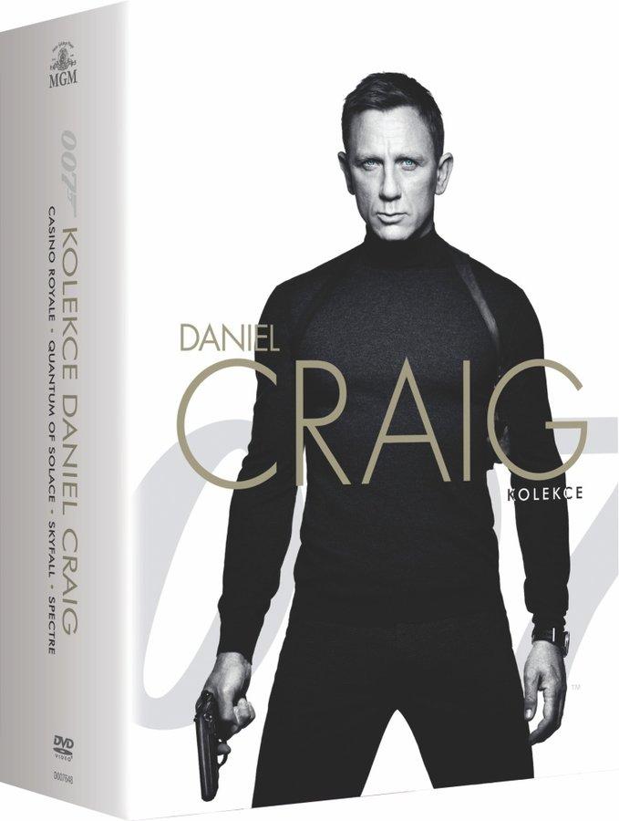 BOND - Daniel Craig - kolekce - 4xDVD+1xDVD BONUS