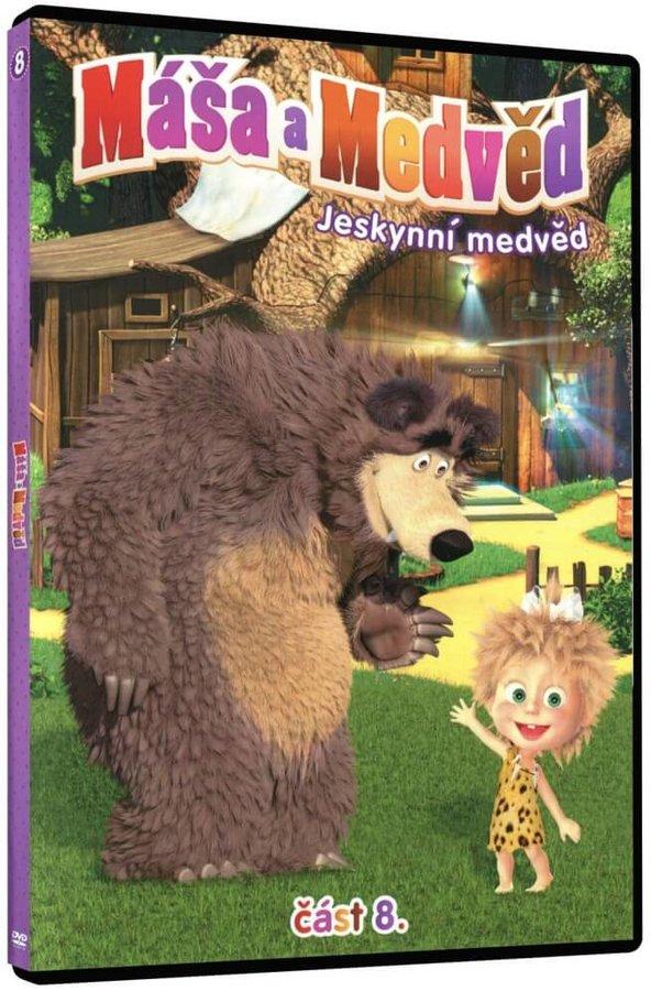 Máša a medvěd 8 - Jeskynní medvěd (DVD)