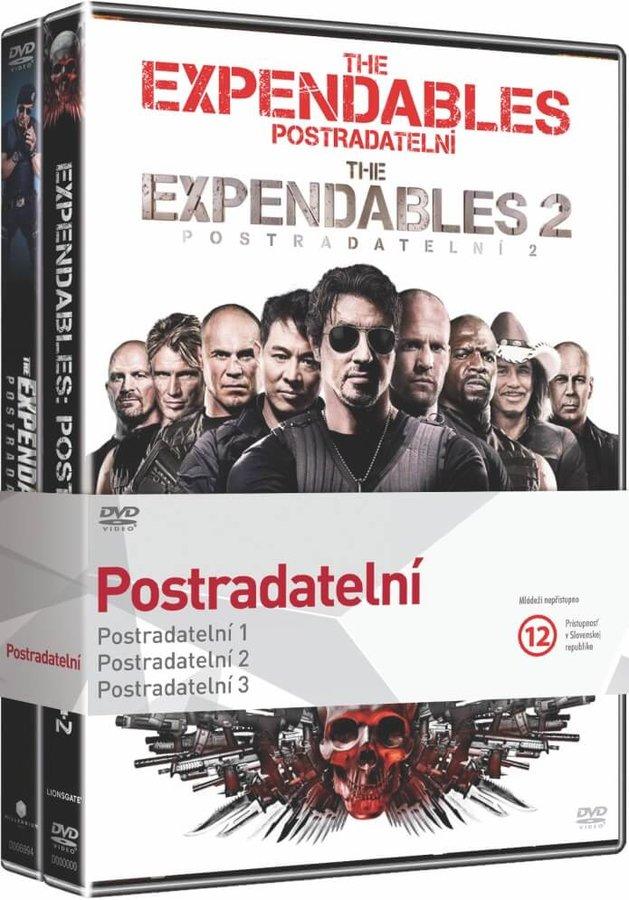 3x Postradatelní 1-3 - kolekce (3xDVD)