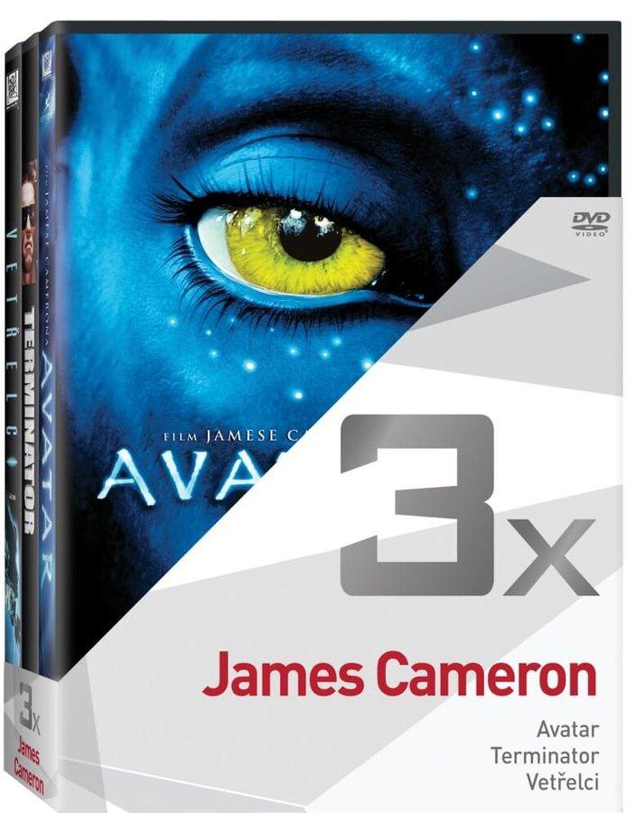 3x James Cameron (Avatar, Terminator, Vetřelci) - kolekce (3xDVD)