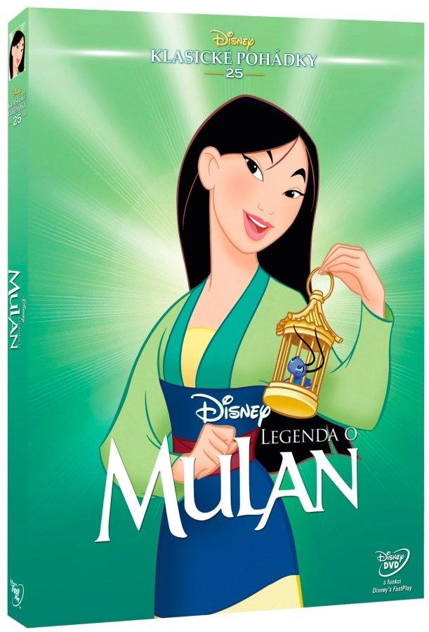 Legenda o Mulan (DVD) - Edice Disney klasické pohádky