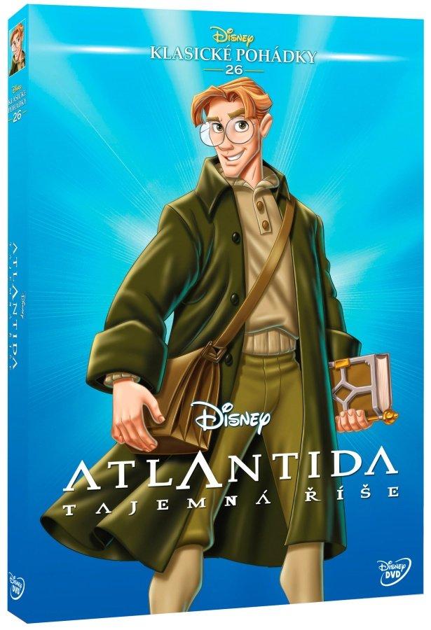 Atlantida: Tajemná říše (DVD) - Edice Disney klasické pohádky