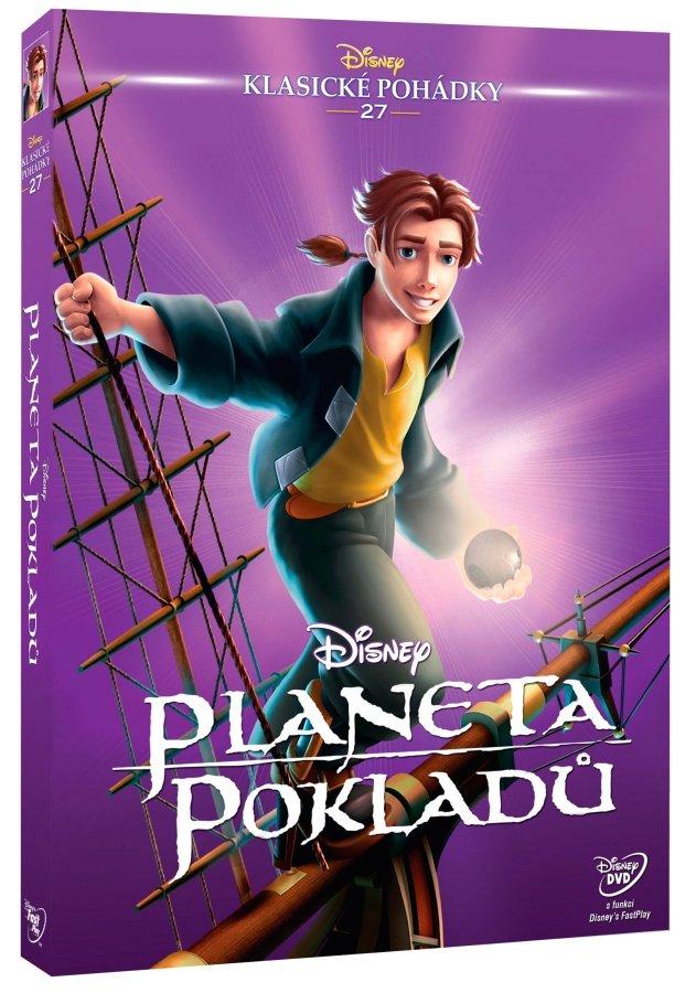 Planeta pokladů (DVD) - Edice Disney klasické pohádky