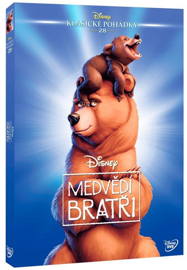 Medvědí bratři (DVD) - Edice Disney klasické pohádky
