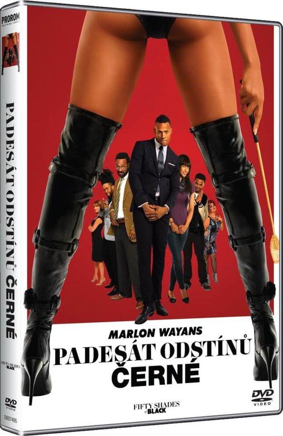 Padesát odstínů černé (DVD)