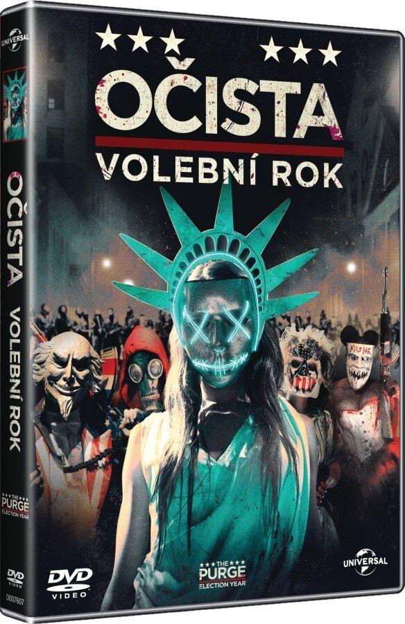 Očista 3: Volební rok (DVD)