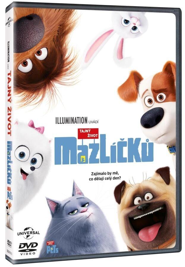 Tajný život mazlíčků (DVD)