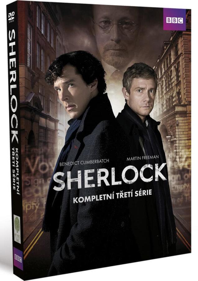 Sherlock - 3. série (3 DVD)