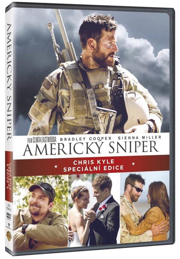 Americký sniper (2xDVD) - speciální edice