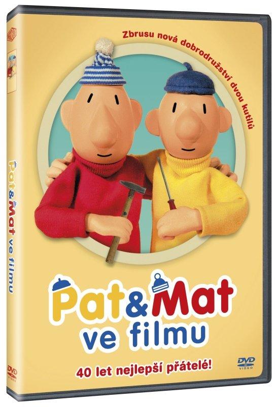 Pat a Mat ve filmu (DVD)