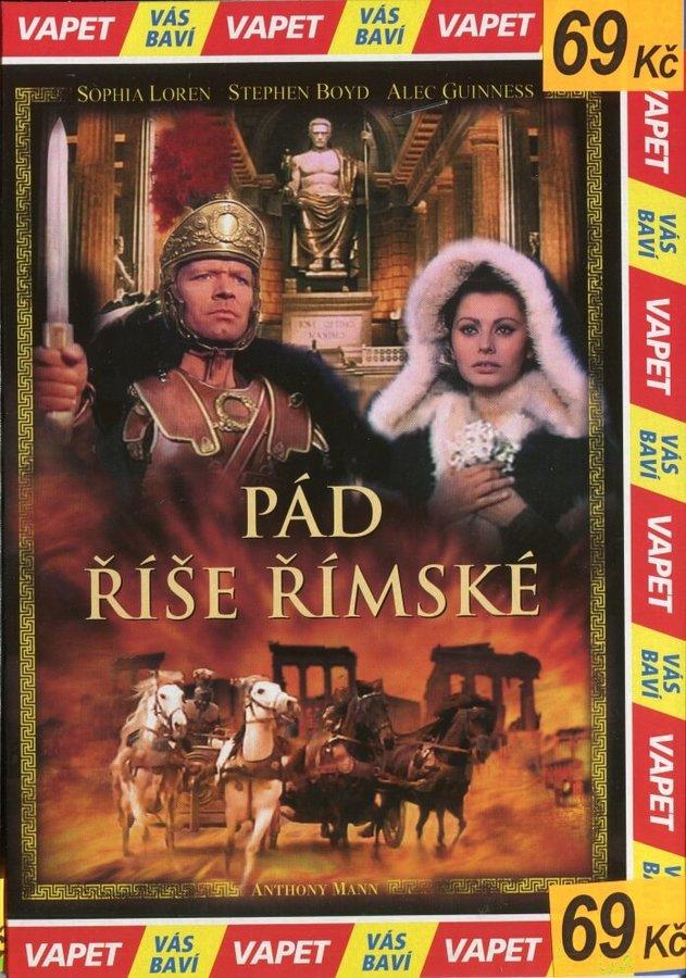 Pád říše římské (DVD) (papírový obal)