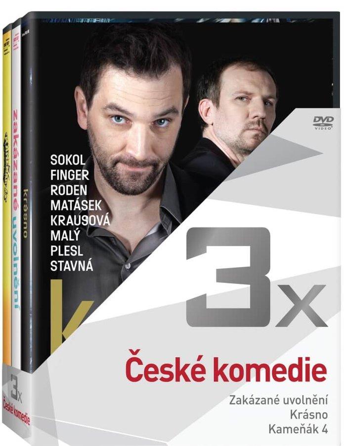 3x České komedie - kolekce (3xDVD)