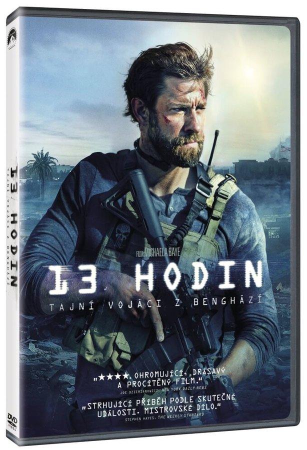 13 hodin: Tajní vojáci z Benghází (DVD)