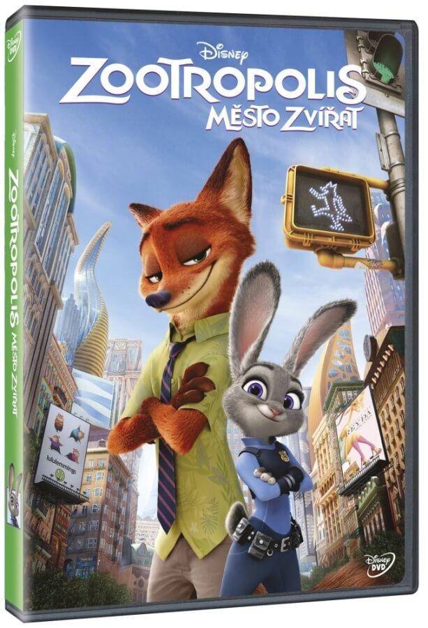 Zootropolis: Město zvířat (DVD)