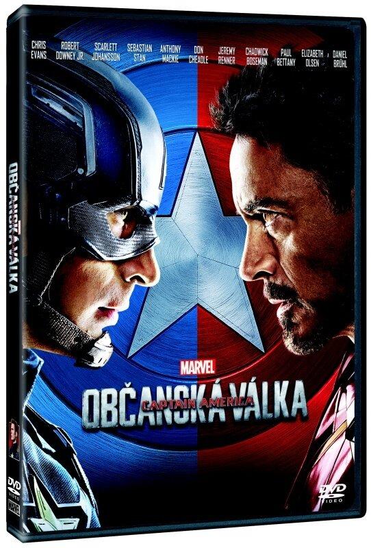 Captain America: Občanská válka (DVD)