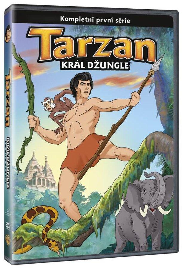 Tarzan: Král džungle 1. série (2 DVD)