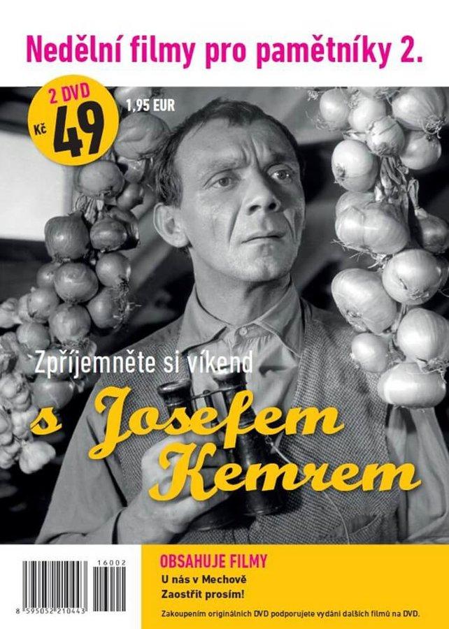Nedělní filmy pro pamětníky 2: Josef Kemr (2 DVD) (papírový obal)