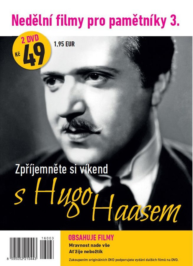 Nedělní filmy pro pamětníky 3: Hugo Haas (2 DVD) (papírový obal)