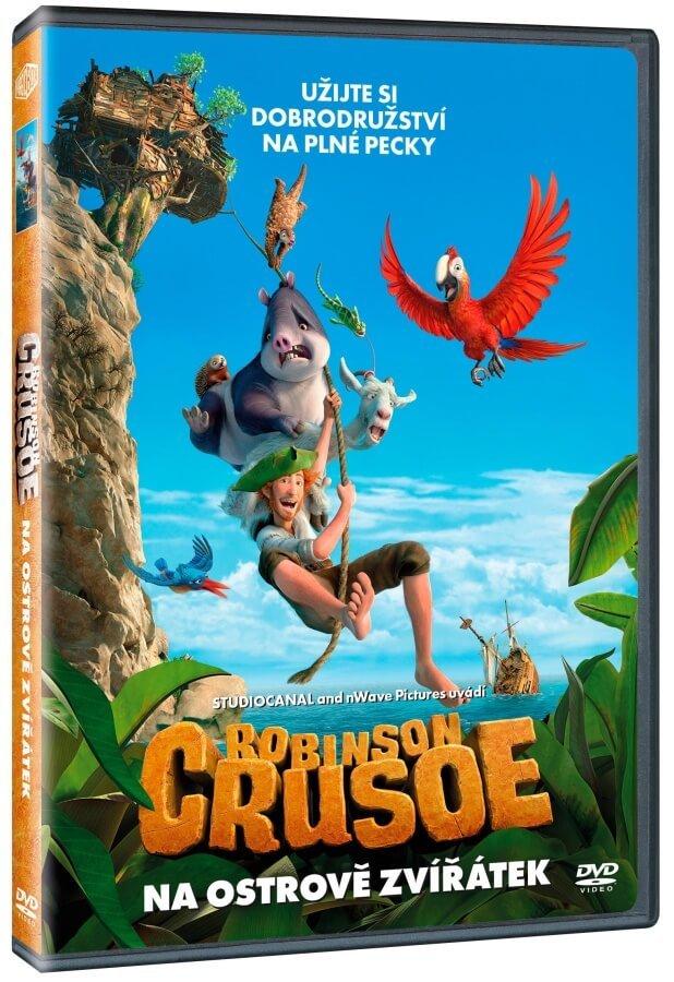 Robinson Crusoe: Na ostrově zvířátek (DVD)