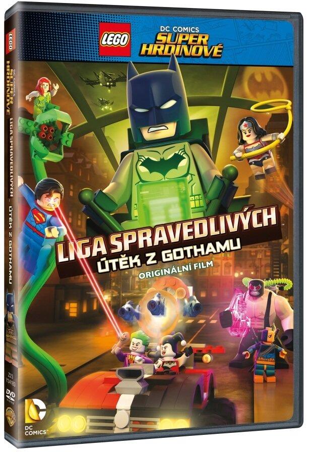 Lego DC Super hrdinové: Útěk z Gothamu (DVD)