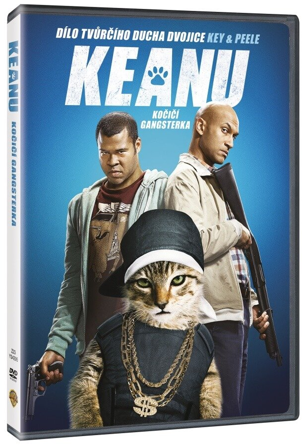 Keanu - Kočičí gangsterka (DVD)