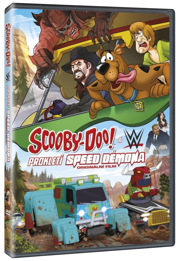 Scooby-Doo & WWE:Prokletí Speed Démona (DVD)