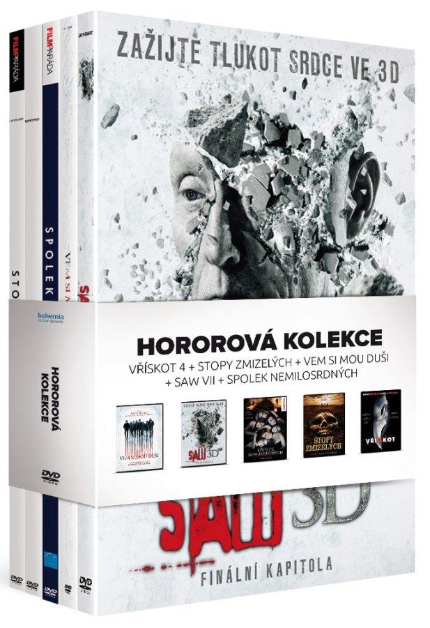 Hororová kolekce (5 DVD)