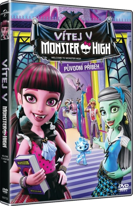 Vítej v Monster High (DVD)