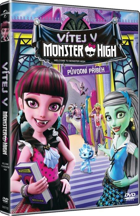 Vítej v Monster High (DVD)