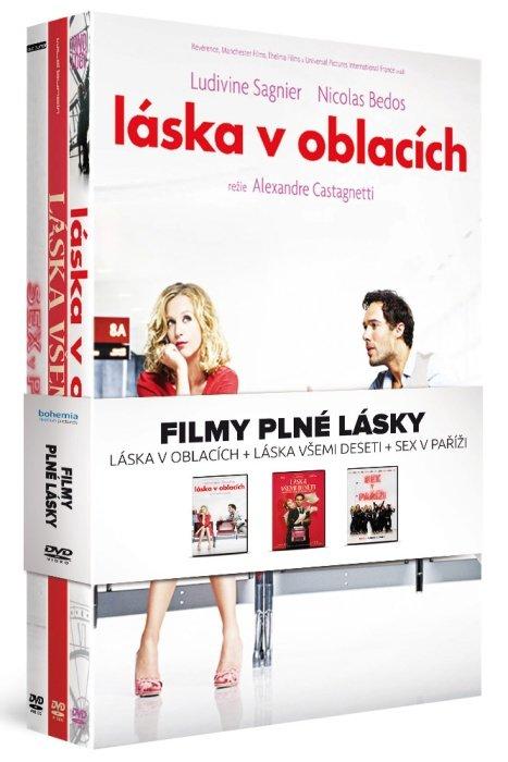 Filmy plné lásky kolekce (3 DVD)