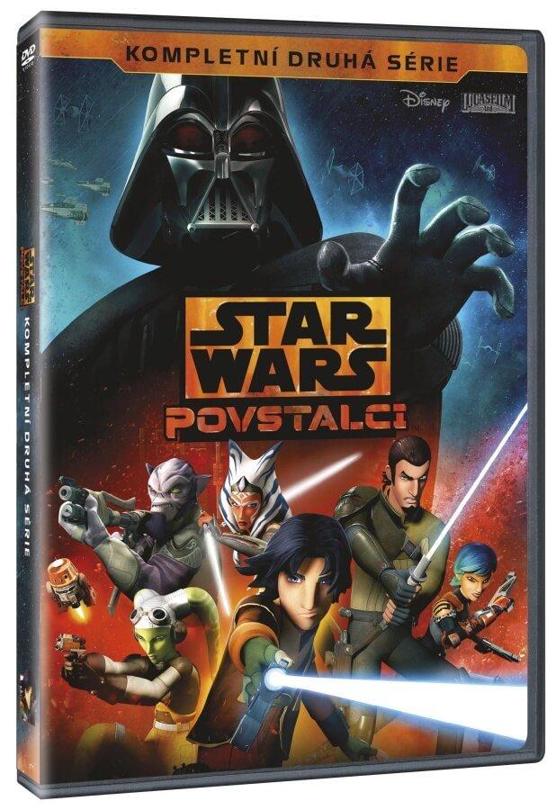 Star Wars: Povstalci - 2. série (3DVD)