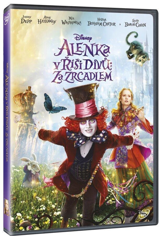 Alenka v říši divů: Za zrcadlem (DVD)